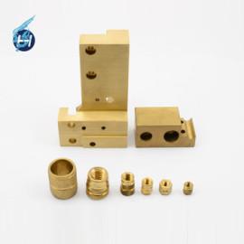 黄铜材质,车床加工,单品到批量高精密机械零件