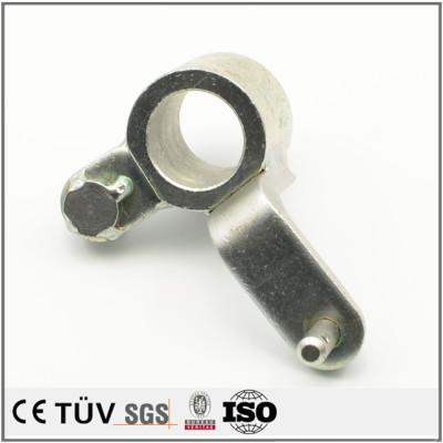 圆管钣金精密加工,铝材质,白色阳极氧化处理,包装机用