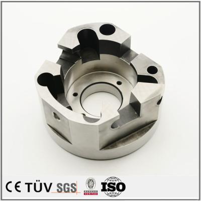 碳钢材质,调质热处理精密加工,印刷机用机械零件