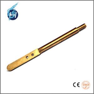 铜材质,精密长管加工,高公差高严谨部品,自动设备用