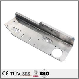 钢板焊接部品,加工中心加工,无电解镀镍表面处理,高精密部品