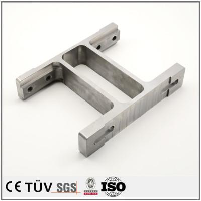 S45C材质,淬火回火加工,组装设备用高精密部品