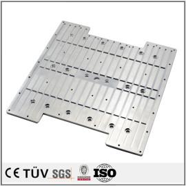 密封孔精密加工部品,慢丝加工,加工中心加工,铝材质,高精密部品