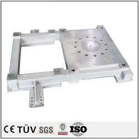 钢板焊接部品,闪镀鉻表面处理,高精密设备大连生产
