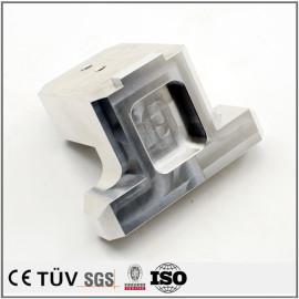 铝制加工件,调质热处理加工,白色阳极氧化处理等高精密部品