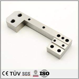 建筑行业用机械零件加工,碳钢材质,闪镀鉻表面处理等高精密部品