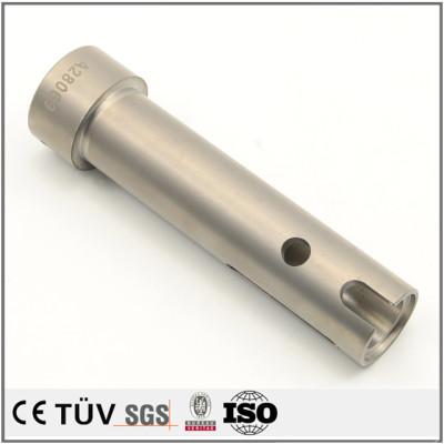 不锈钢材质,气体软氮化表面处理,自动设备用钢管生产,高精密设备