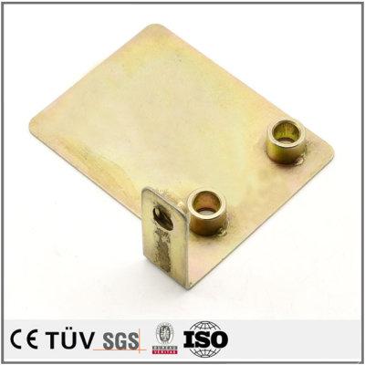 S45C材质加工,专业钣金机加工, 高平行度高公差精密部品