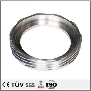 碳钢材质,外螺纹精密加工,无电解镀镍表面处理,抛光研磨等工艺部品