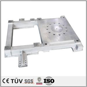 铝件焊接部品,加工中心加工,车床加工,白色阳极氧化部品等精密加工
