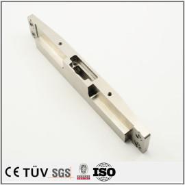 钢制机加工部品,车铣复合5轴加工,闪镀鉻表面处理等高精密部品