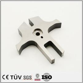 特殊形状高精密部品加工,碳钢材质,组装设备用机械零件
