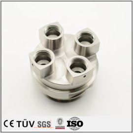 S45C材质,精密螺纹螺母精加工,闪镀鉻表面处理,精密设备加工