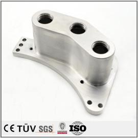 铝制部品,沉孔钻孔精密加工,车床加工,铣削加工,高精密部品