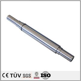 S45C材质,4轴加工,调质热处理,高精密高平行度等高精密部品