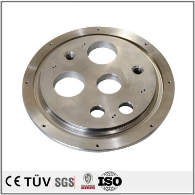 S45C材质,钢板加工,镜面抛光,无电解镀镍表面处理等高精密部品