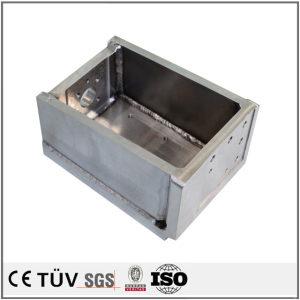 铁制焊接部品,成箱状,农业设备用,高精密设备机械零件