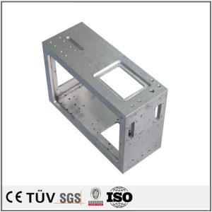 铁板焊接,加工中心钻孔沉孔,组装设备用,高精密部品
