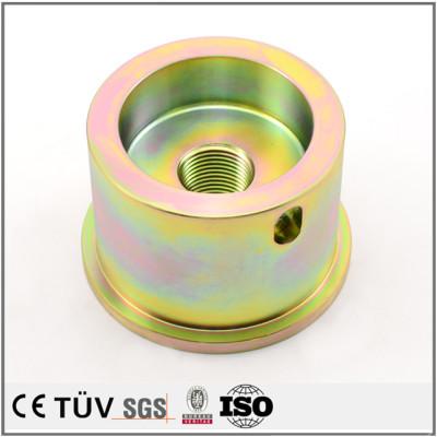 白钢材质,高精密镀彩锌,单品到批量高精密设备生产