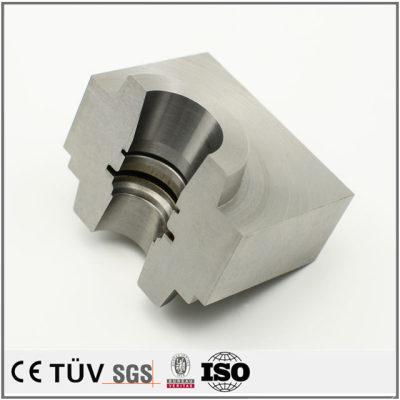 S45C材质,模具精密加工,盐浴氮化处理,高精密设备