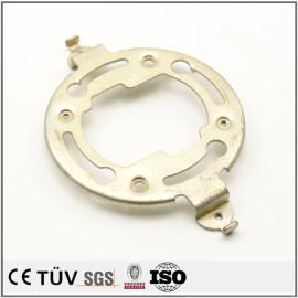 原型钣金加工,组装设备用,白色阳极氧化处理等高精密部品