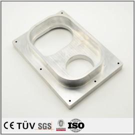 加工中心加工部品,A5052材质,白色阳极氧化处理,高精密设备