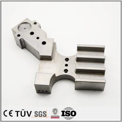 碳钢材质,加工中心加工,放电加工,盐浴氮化处理等精密机械零件