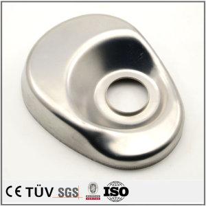 盖状钣金加工,a6061材质,镜面抛光外观部品,高精密设备