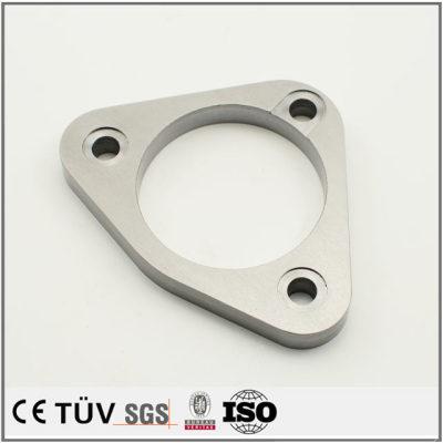 白钢材质机械零件,激光切割研磨等高精密设备,大连生产
