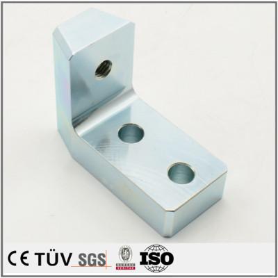 高精密表面处理,镀蓝白锌,防腐蚀,高耐用机械零件