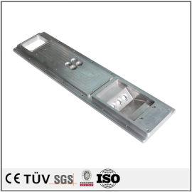 高精密机械零件加工,铝材质,无电解镀镍表面处理等工艺部品