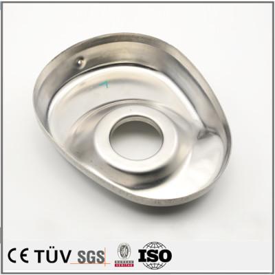 铝制钣金部品加工,镜面抛光,医疗设备用高精密机械零件