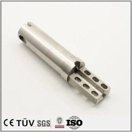 碳钢高精密机械零件加工,钻孔沉孔加工,闪镀鉻表面处理等工艺部品