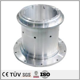 高精密铝制机械零件,车铣复合5轴联动加工,高精密外观部品