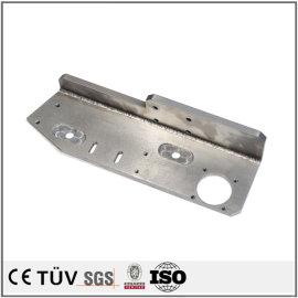 钢板焊接部品,加工中心加工,无电解镀镍表面处理等工艺部品
