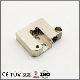 组装设备用机械零件,SKD61材质,调质热处理,高精密设备