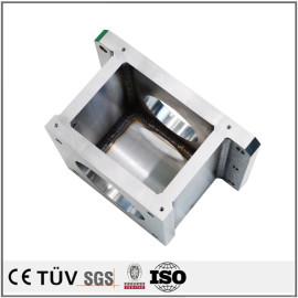 焊接箱制机械零件,SS400材质,焼鈍处理,高精密设备
