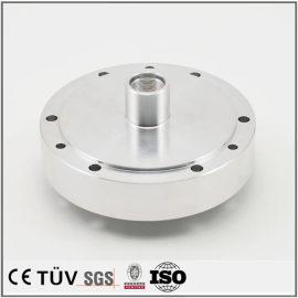 铝制,车床加工,白色阳极氧化处理等高精密机械零件