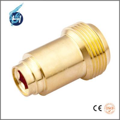 黄铜材质,外螺纹精密加工,车床加工,磨床研磨,高精密部品