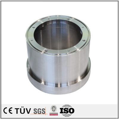 S45C材质,高精密镜面抛光,无电解镀镍表面处理,高精密部品