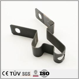 机动设备用钣金加工,黑染表面,弯曲加工,出口贸易等生产