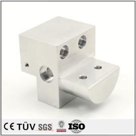 高精密部品,A5056材质,慢丝加工,白色阳极氧化处理等高精密部品