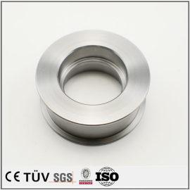 SKD11材质,高周波淬火,硬质镀鉻表面处理,高精密机械零件