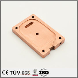 鉻铜精密加工,加工中心加工,磨床研磨,高平面度高精密部品,大连生产