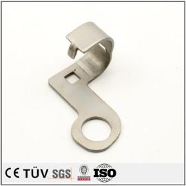SS400材质,钣金弯曲加工,闪镀鉻表面处理等高精密部品