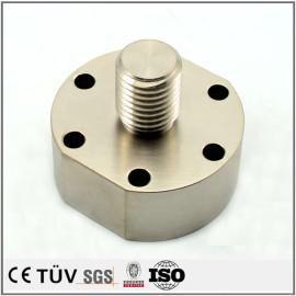高精密无电解镀镍机械零件,碳钢材质,螺纹加工,抛光研磨等工艺部品