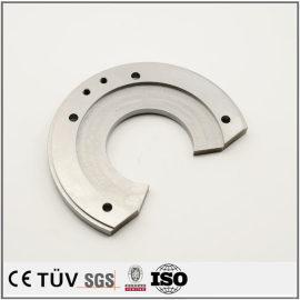 钢板加工,同心度平行度高精密部品,闪镀鉻表面处理机械零件