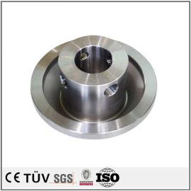 碳钢材质部品,调质热处理,镜面抛光,无电解镀镍表面处理等机械零件