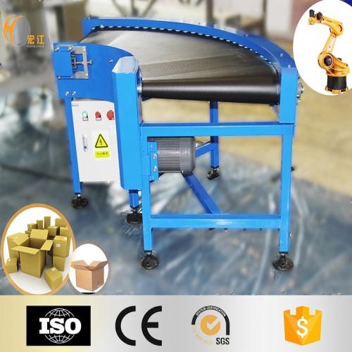 عالية الجودة 90 درجة منحنى PVC الحزام الناقل لخط الإنتاج