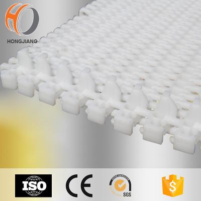 H2400 modificó la cinta transportadora plástica modular de sequía del alimento con la cadena del transportador de la comida